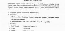 Praktikum Perbankan Syariah (Magang) Tahun Akademik 2016/2017